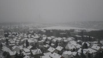 Banovo brdo panorama zima