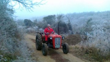 Fruska gora, traktor