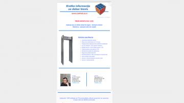 Informator br.13 - Tema: Metal-detetorska vrata