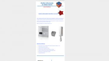 Informator br.9 - Tema: Antivandal interfoni za kuće